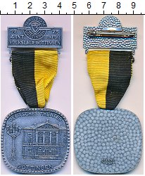 Изображение Монеты Германия медаль 1975 Медно-никель UNC-