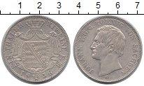 Изображение Монеты Саксония 1 талер 1856 Серебро XF Иоганн