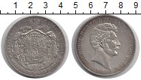Изображение Монеты Брауншвайг-Люнебург 2 талера 1848 Серебро XF Вильгельм