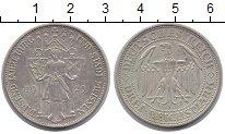 Изображение Монеты Веймарская республика 3 марки 1929 Серебро XF 1000-летие Мейсена