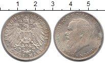 Изображение Монеты Бавария 2 марки 1914 Серебро UNC-
