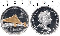 Изображение Монеты Острова Кука 10 долларов 2008 Серебро Proof Елизавета II. США