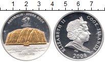 Изображение Монеты Острова Кука 10 долларов 2008 Серебро Proof Елизавета II. Австра