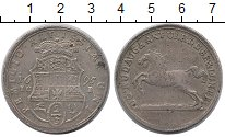 Изображение Монеты Брауншвайг-Вольфенбюттель 2/3 талера 1695 Серебро XF- Рудольф Август и Ант