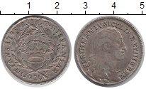 Изображение Монеты Неаполь 20 грано 1795 Серебро VF