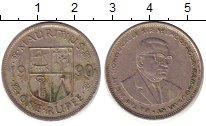 Изображение Барахолка Маврикий 1 рупия 1990 Медно-никель XF-