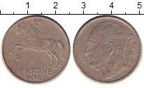 Изображение Дешевые монеты Норвегия 1 крона 1970 Медно-никель XF-