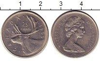 Изображение Дешевые монеты Канада 25 центов 1969 Медно-никель XF-