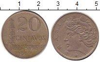 Изображение Дешевые монеты Бразилия 20 сентаво 1967 Медно-никель XF