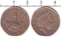 Изображение Барахолка Остров Джерси 10 пенсов 1998 Медно-никель XF