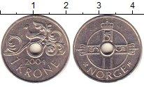 Изображение Барахолка Норвегия 1 крона 2004 Медно-никель XF