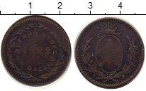 Изображение Монеты Аргентина 1 десимо 1822 Медь VF