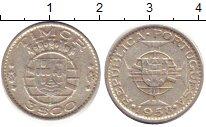 Изображение Монеты Тимор 3 эскудо 1958 Серебро XF- Португальская колони