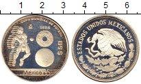 Изображение Монеты Мексика 50 песо 1985 Серебро Proof-