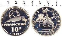 Изображение Монеты Франция 10 франков 1998 Серебро Proof-
