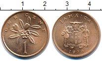 Изображение Монеты Ямайка 1 цент 1970 Медь UNC-