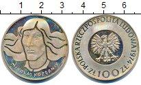 Изображение Монеты Польша 100 злотых 1974 Серебро XF