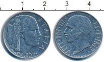 Изображение Монеты Италия 20 сентесимо 1941 Медно-никель XF
