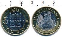 Изображение Монеты Финляндия 5 евро 2015 Биметалл UNC-
