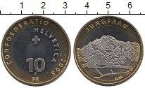Изображение Монеты Швейцария 10 франков 2005 Биметалл UNC