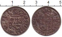 Изображение Монеты Швейцария Валле 1 батзен 1722 Серебро VF