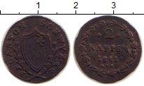 Изображение Монеты Швейцария Швиц 2 рапенна 1811 Медь VF