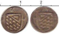 Изображение Монеты Швейцария Цюрих 1 геллер 0 Серебро XF-