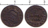 Изображение Монеты Берн 1 раппен 1829 Серебро VF
