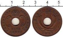 Изображение Монеты Восточная Африка 5 центов 1951 Бронза XF