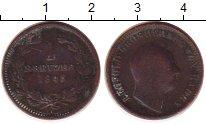 Изображение Монеты Германия Баден 1 крейцер 1845 Медь VF