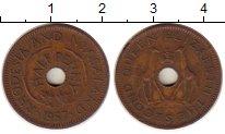 Изображение Монеты Великобритания Родезия 1/2 пенни 1957 Бронза XF