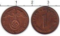 Изображение Монеты Третий Рейх 1 пфенниг 1937 Бронза UNC-