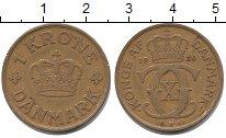 Изображение Монеты Дания 1 крона 1930 Латунь XF