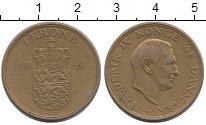 Изображение Монеты Дания Дания 1949 Латунь XF