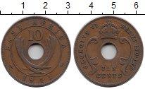Изображение Монеты Великобритания Восточная Африка 10 центов 1941 Бронза XF