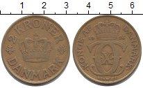 Изображение Монеты Дания 2 кроны 1926 Латунь XF