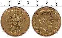 Изображение Монеты Дания 2 кроны 1956 Латунь XF