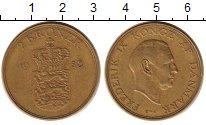 Изображение Монеты Дания 2 кроны 1958 Латунь XF
