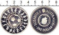 Изображение Монеты Австралия 1 доллар 25 центов 2006 Серебро Proof
