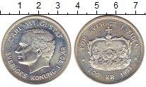 Изображение Монеты Швеция 200 крон 1993 Серебро UNC