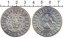 Изображение Монеты Швеция 200 крон 1989 Серебро UNC Чемпионат  мира  по