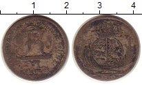 Изображение Монеты Вюртемберг 6 крейцеров 1812 Серебро VF