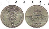 Изображение Монеты ГДР 5 марок 1989 Медно-никель UNC- Церковь Марии