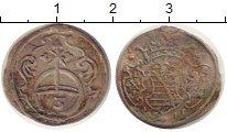 Изображение Монеты Саксония 3 пфеннига 1677 Серебро VF