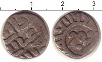 Изображение Монеты Индия 1/2 рупии 0 Серебро XF XVII-XVIII в.
