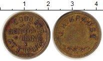 Изображение Монеты ЮАР жетон 0 Латунь VF