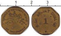 Изображение Монеты США жетон 0 Латунь XF