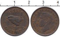 Изображение Монеты Великобритания Великобритания 1945 Бронза XF