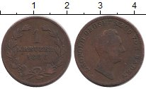 Изображение Монеты Германия Баден 1 крейцер 1836 Медь VF