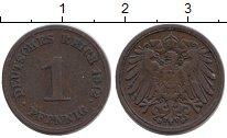 Изображение Мелочь Германия 1 пфенниг 1912 Медь VF